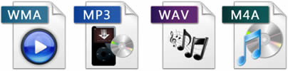 Fichiers audio