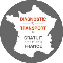 Diagnostic et transport gratuit dans toute la France