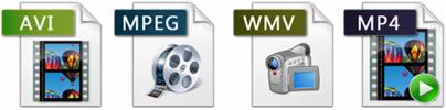 Fichiers vidéo